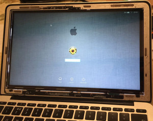 Macbook Air-LCD Screen Replaced Horncastle